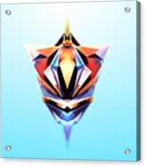 Crystal Shapes - 24 Acrylic Print