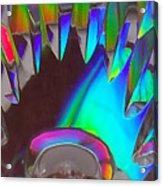 Crystal Teeth Acrylic Print