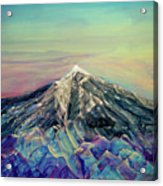 Crystalline Mountain Acrylic Print