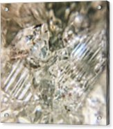 Crystals And Stones Zeolite 4718 Acrylic Print