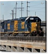 Csx 8011 Bone Valley Bound Acrylic Print