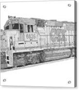 Csx Diesel Locomotive Acrylic Print