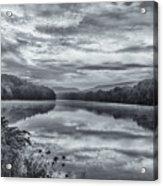 Ct River Putney Bw Acrylic Print