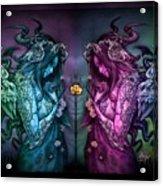 Cthluhu Rainbow Acrylic Print