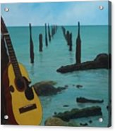 Cuatro Seascape Acrylic Print