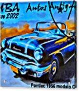 Cuba Antique Auto 1956 Catalina Acrylic Print