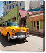 Classic Cuba Cars IIi Acrylic Print