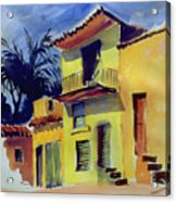 Cuban Architecture Acrylic Print