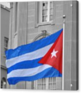 Cuban Flag Acrylic Print