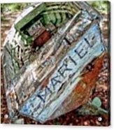 Cuban Refugee Boat 3 The Mariel Acrylic Print