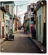 Cuban Street Acrylic Print
