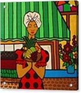 Cuban Vignette Acrylic Print