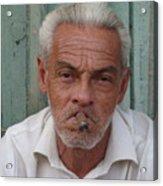 Cuba's Faces Acrylic Print