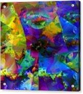 Cubed Fractals Acrylic Print