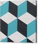 Cubes Acrylic Print