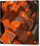 Cubic Tendings Acrylic Print