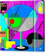 Cubic1 Acrylic Print