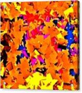 Cubist Tesseract Acrylic Print