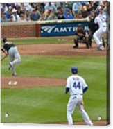 Cubs - Eye On The Ball Acrylic Print