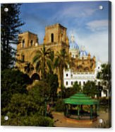 Cuenca Is A World Heritage Site Acrylic Print