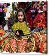 Cuenca Kids 1101 Acrylic Print