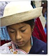 Cuenca Kids 683 Acrylic Print