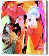 Cuenca Kids 884 Acrylic Print