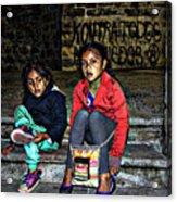 Cuenca Kids 953 Acrylic Print