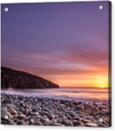 Cullernose Point At Sunrise Acrylic Print