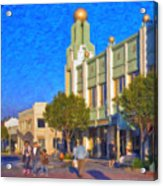 Culver City Plaza Theaters   Acrylic Print