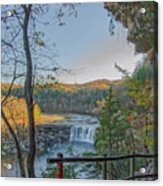 Cumberland Falls Ky From Eagle Falls Trail Acrylic Print