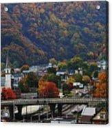 Cumberland In The Fall Acrylic Print