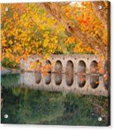 Cumberland Mountain State Park Bridge Acrylic Print