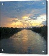 Cumberland River - Nashville  Acrylic Print
