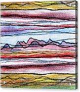 Cumbria Lines 2 Acrylic Print