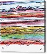Cumbria Lines  Acrylic Print