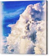 Cumulonimbu Over Tampa Bay Acrylic Print