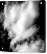 Cumulus Congestus Clouds Dog Shapes Acrylic Print