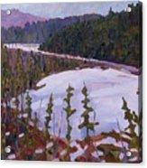 Cunnington Marsh Acrylic Print