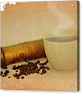 Cup Of Coffee Acrylic Print