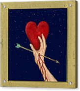 Cupids Arrow Acrylic Print by Charles Harden