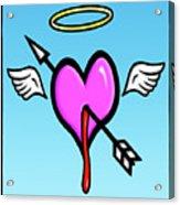 Cupids Heart Acrylic Print