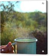 Cuppa Steam Acrylic Print