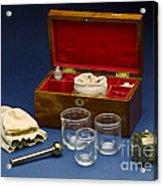 Cupping Set, London, England, C. 1865 Acrylic Print