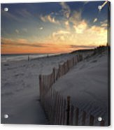 Cupsogue Beach Sunset Acrylic Print