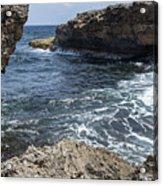 Curacao - Coast At Shete Boka National Park Acrylic Print