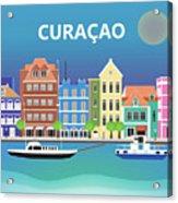 Curacao Horizontal Scene Acrylic Print