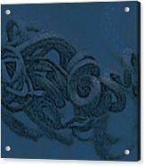 Curly Swirly Acrylic Print
