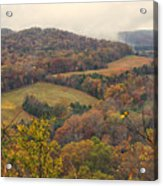 Current River Valley Near Acers Ferry Mo Dsc09419 Acrylic Print