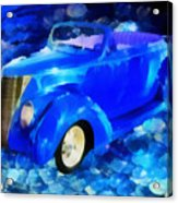 Custom Car  Acrylic Print